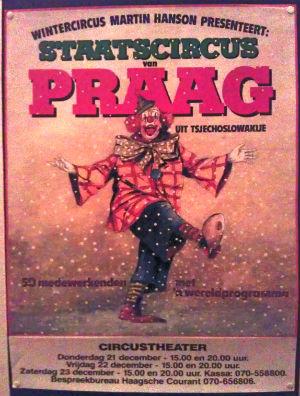Staatscircus van Praag