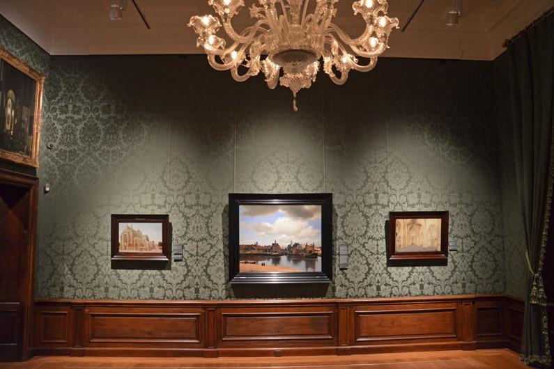 Vermeers Gezicht op Delft komt prachtig tot zijn recht