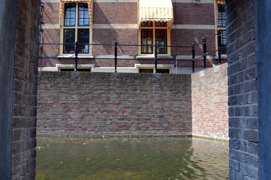 Doorkijkje naar het water bij het Torentje