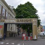 Toegangspoort naar het festivalterrein